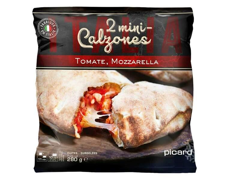 Picard - 2minicalzones tomate-mozzarella