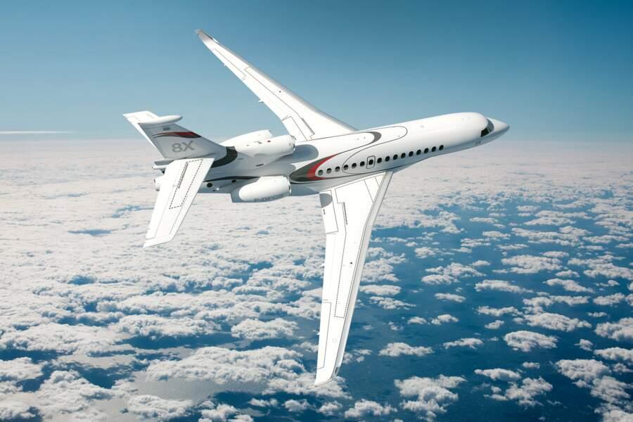 Le Falcon 8X de Dassault