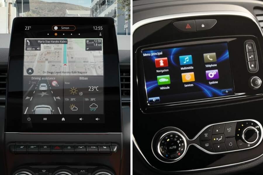 Nouveau système multimédia et écran plus grand