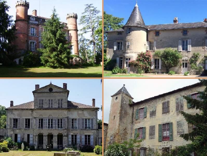 Immobilier : Ces 10 châteaux à moins de 500.000 euros