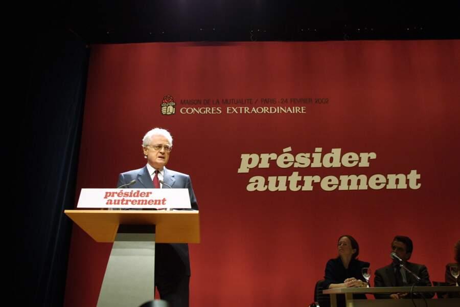 2002: retraite politique