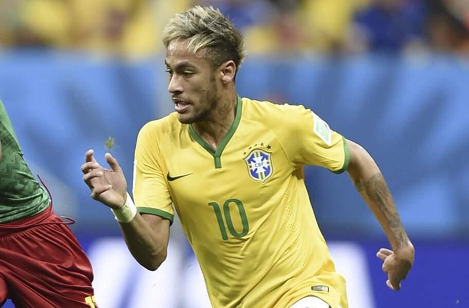 Neymar, l'attaquant brésilien du Barça
