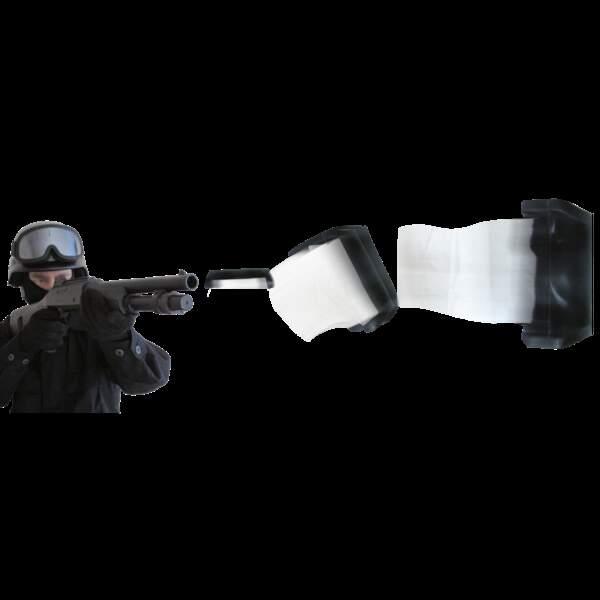 Le projectile pour maîtriser des individus