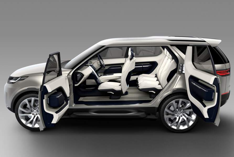 Land Rover Concept Discovery Vision