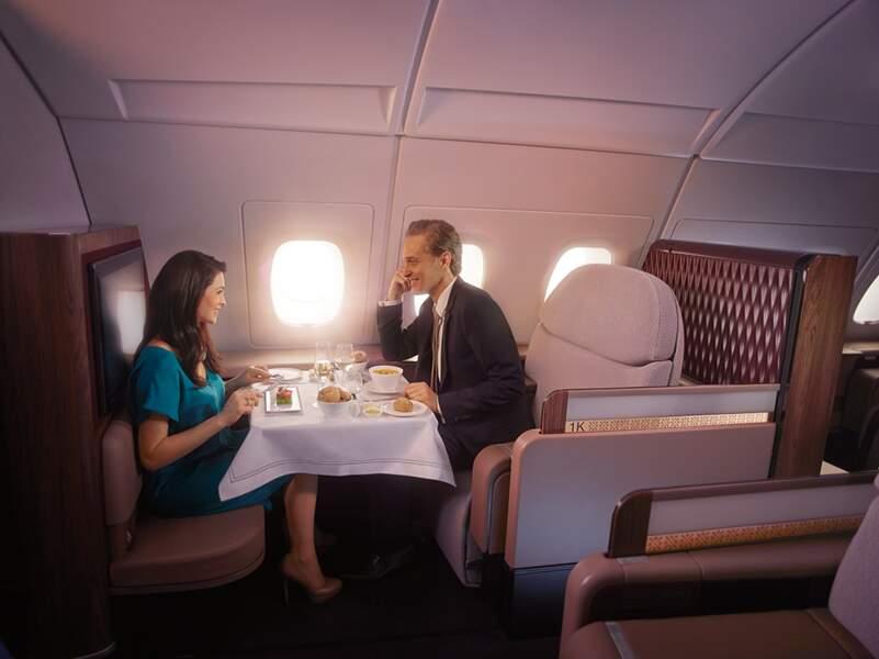 Qatar Airways, le service jusqu'au bout des ailes