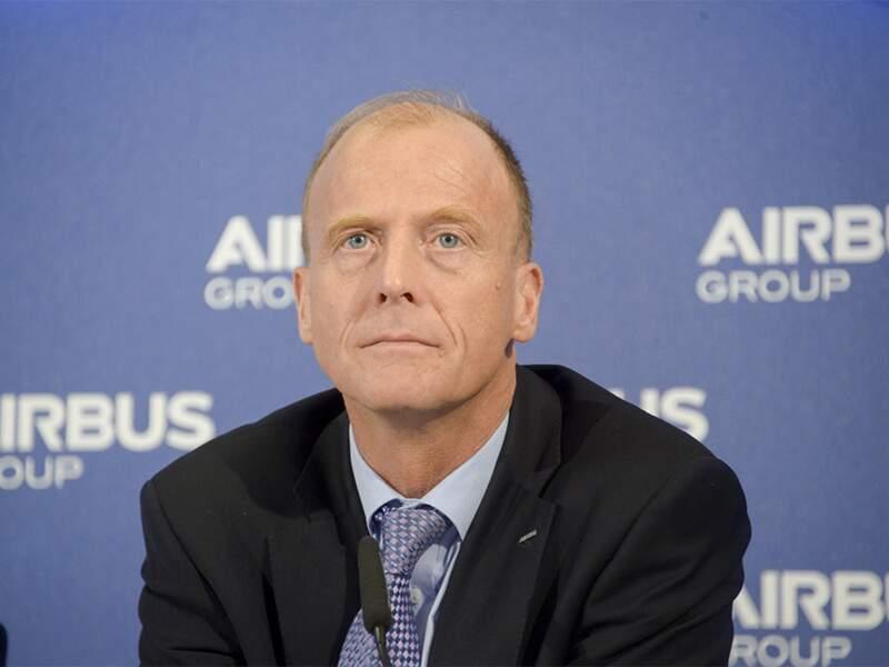 Le CV de Thomas Enders, P-DG d'Airbus