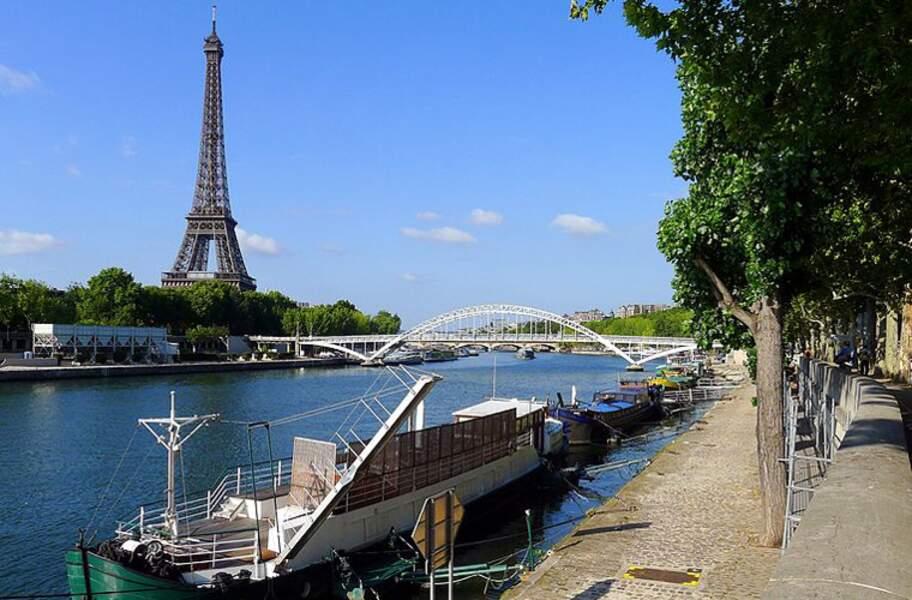 Les rives de la Seine à Paris