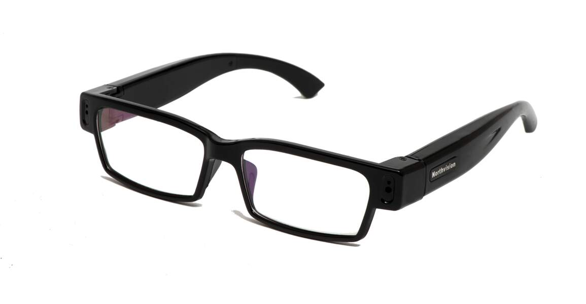 Des lunettes qui filment tout