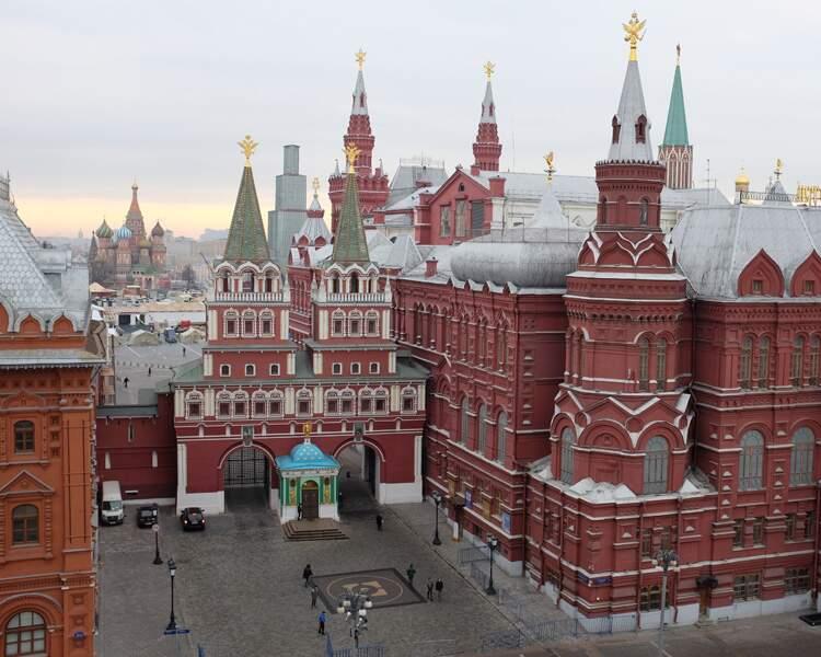 4 jours à Moscou