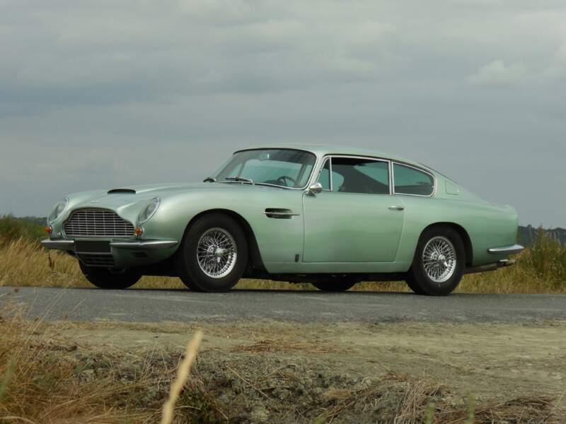 Aston Martin DB6 Vantage coupé de Richard Anthony