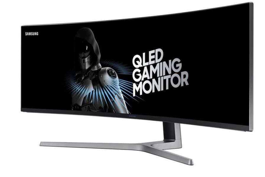 L'écran géant incurvé de Samsung pour les gamers