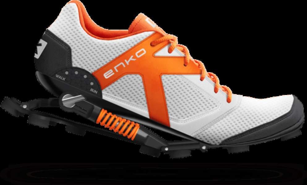 Enko : les chaussures avec amortisseurs