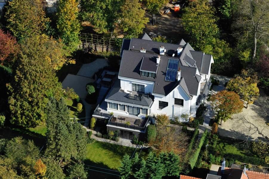 Hubert Taittinger : une imposante villa à Uccle