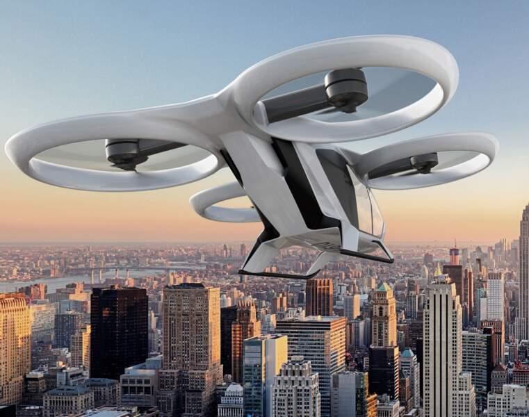 La foire aux taxis-drones s'emballe à travers le monde