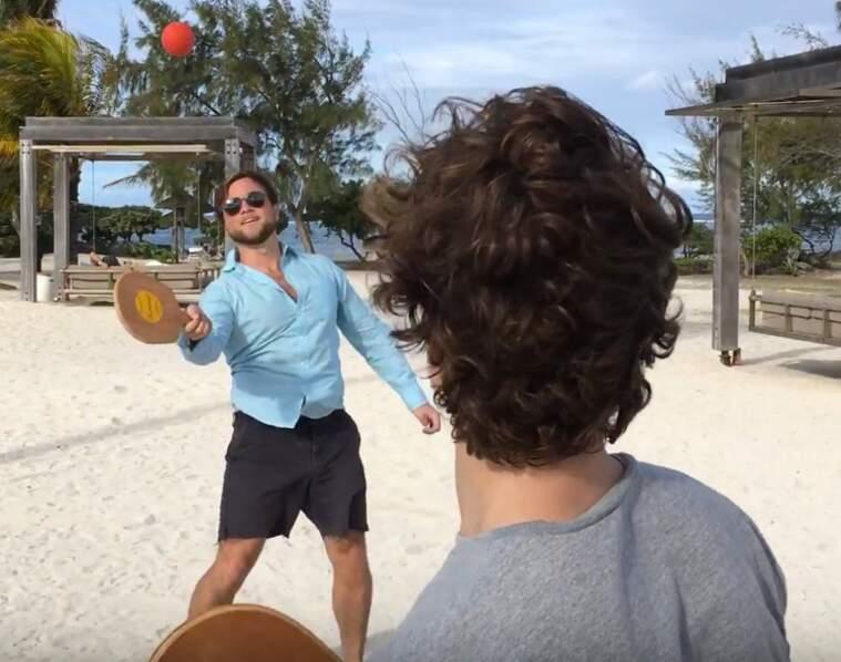 La balle connectée pour vos raquettes de plage