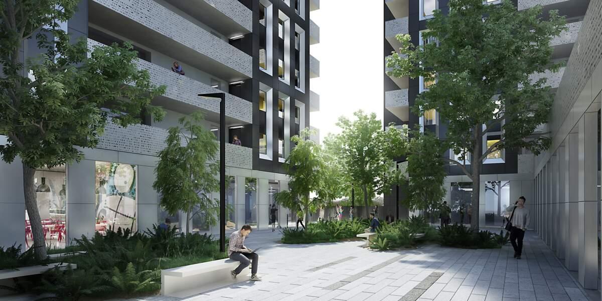100 logements