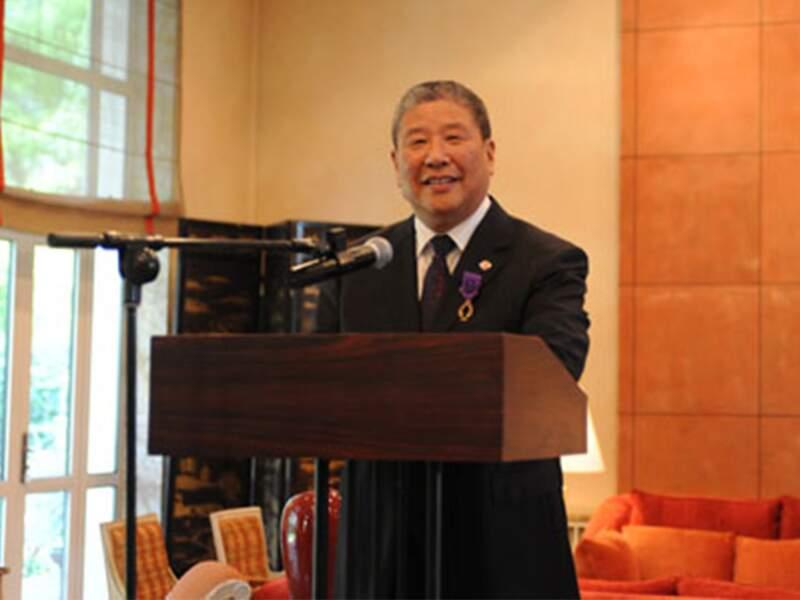 Portrait du doyen de l'université pékinoise de Renmin à l'origine de l'IFC