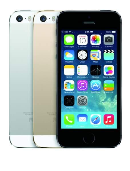 Le meilleur smartphone haut de gamme : iPhone 5s 64 Go