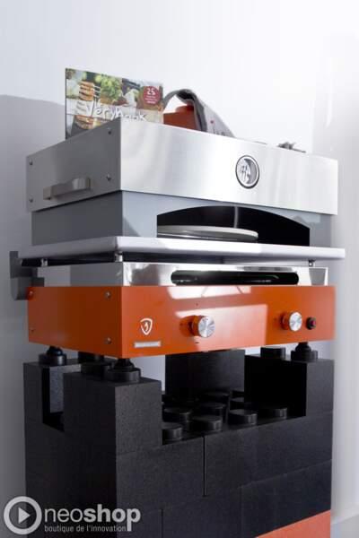 Plancha Verycook : une plancha design qui peut se combiner à un four à pizza