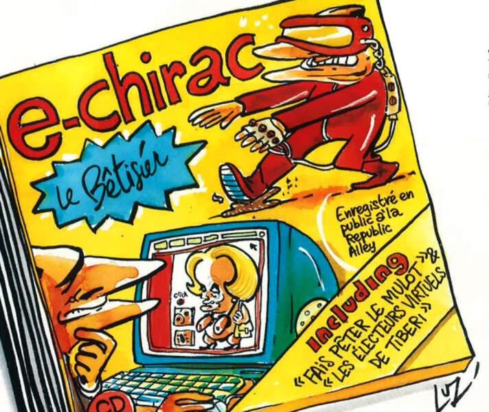 Jacques Chirac surfe à Republic Alley (mars 2000)
