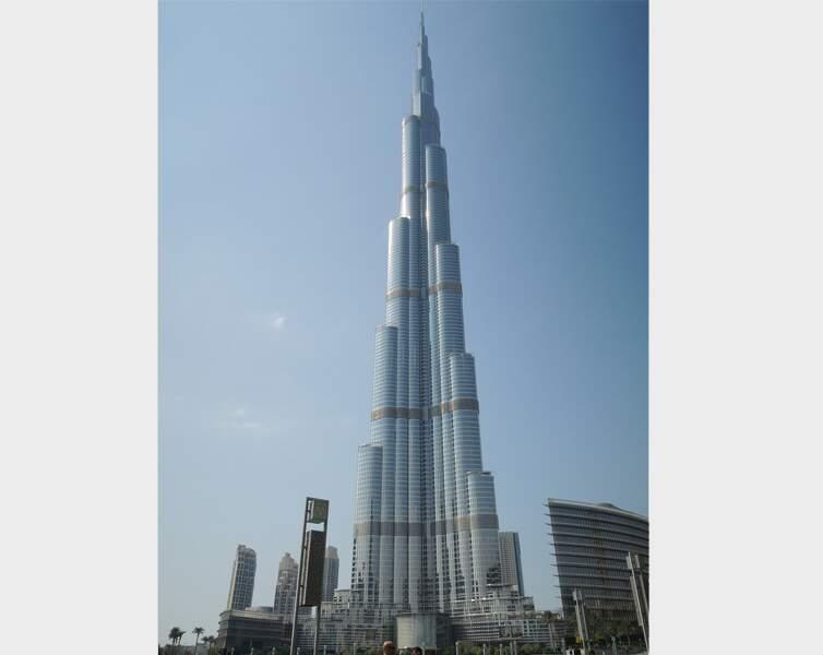 N°3 - Burj Khalifa (Dubaï)