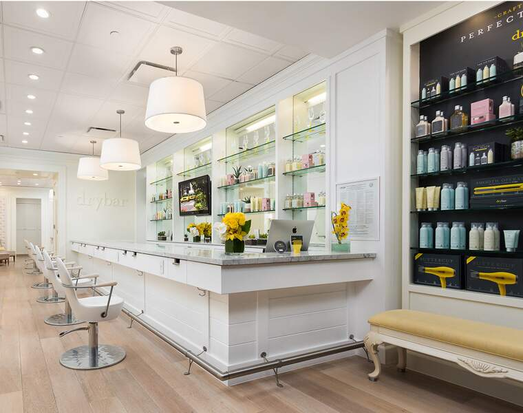 DRYBAR : Bars à brushing