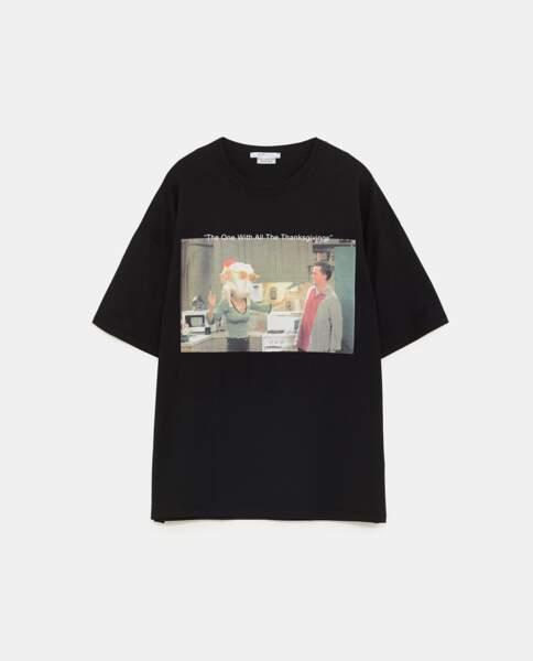 Des tee-shirts Friends chez Zara