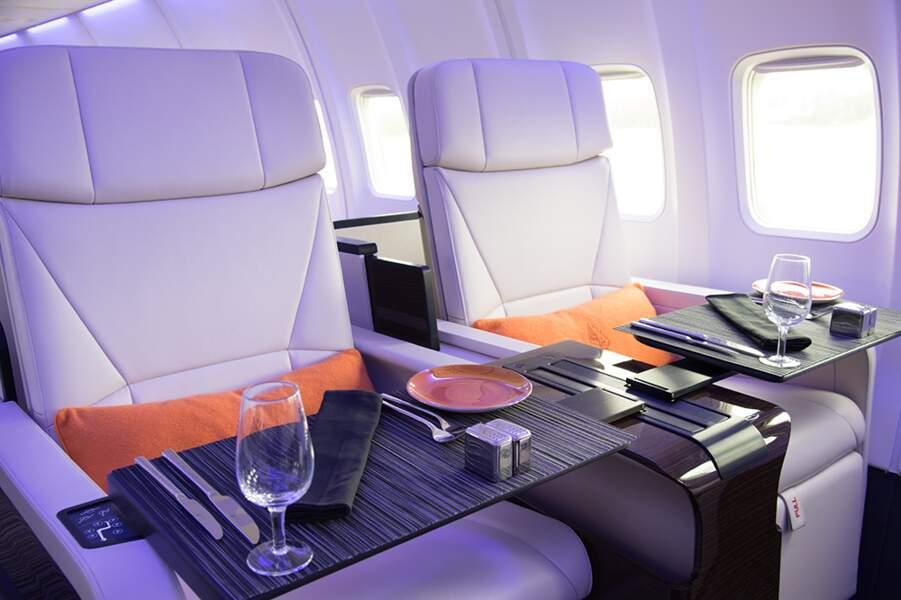 Four Seasons Private Jet Experience, au-dessus des nuages