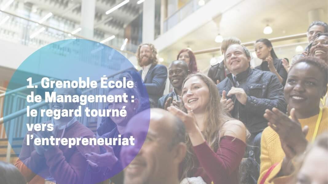 1. Grenoble École de Management : le regard tourné vers l'entrepreneuriat