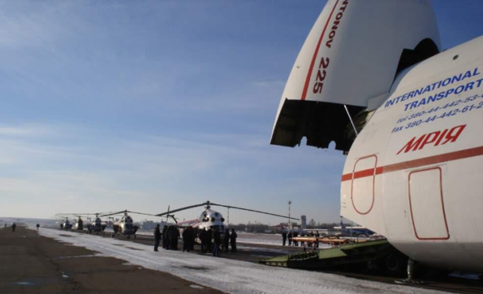L'AN-225 est l'avion cargo le plus imposant au monde