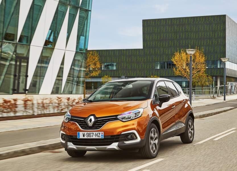 7 - Renault Captur (5.362 ventes)
