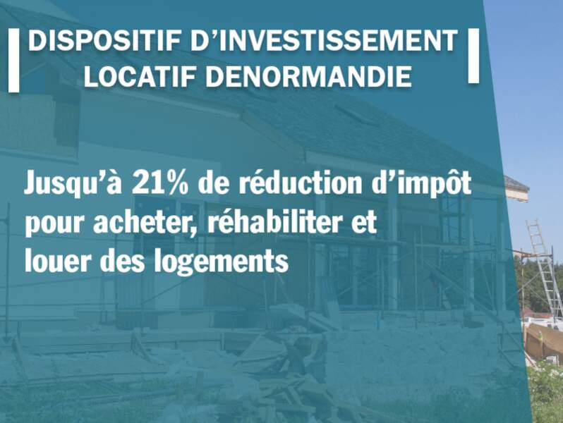 Dispositif d'investissement locatif Denormandie