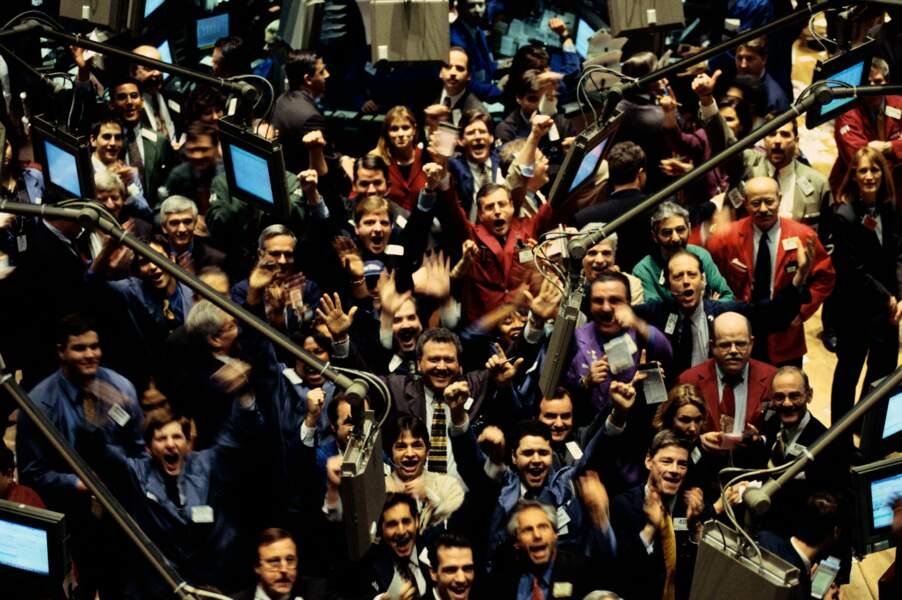 Wall Street s'est envolé