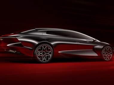 Lagonda Vision : l'automobile de luxe électrique par Aston Martin