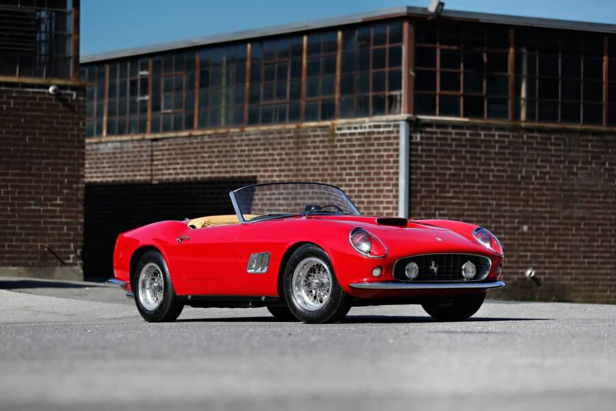 Ferrari 250 GT SWB California Spider de 1961 - 13,1 millions d'euros