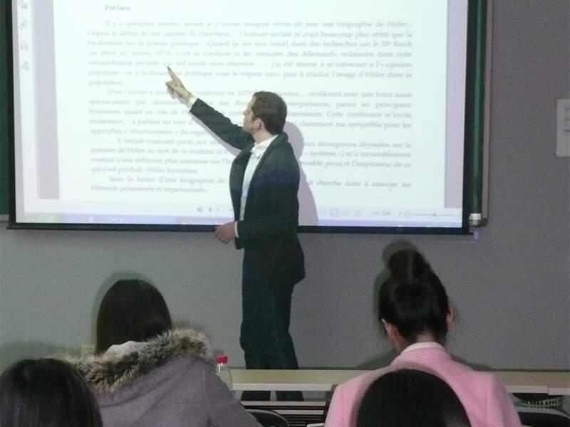 Des professeurs de Kedge Business School, Paris-IV, Paul-Valéry Montpellier viennent enseigner à l'IFC de Suzhou