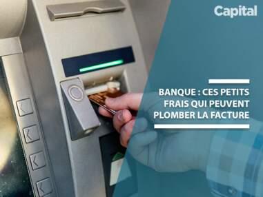 Tarifs bancaires : neuf petits frais cachés qui plombent votre facture