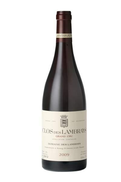 Clos des Lambrays 2009 : son prix reste raisonnable pour un grand bourgogne rouge