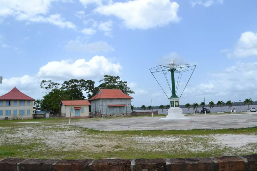 Guyane : Maison du receveur des douanes à Saint-Laurent-du-Maroni