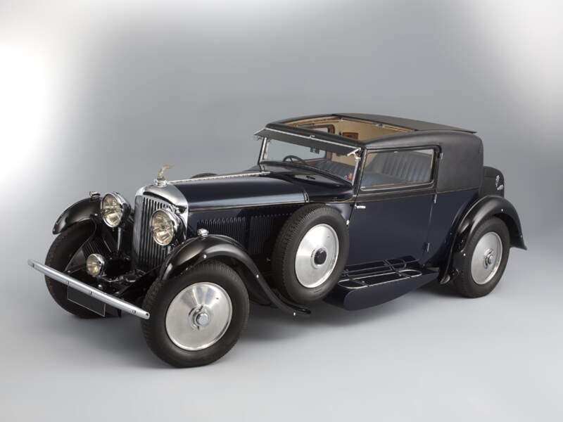Bentley 8 Litre coupé Sportsman Gurney-Nutting