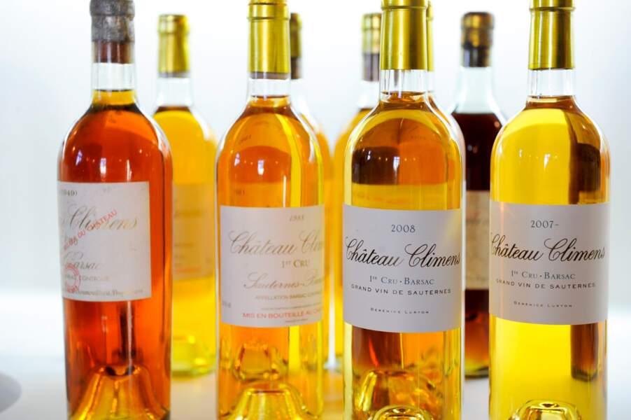 Château Climens 2005 : un liquoreux meilleur qu'un Château d'Yquem