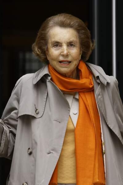 2. Liliane Bettencourt (L'Oréal)