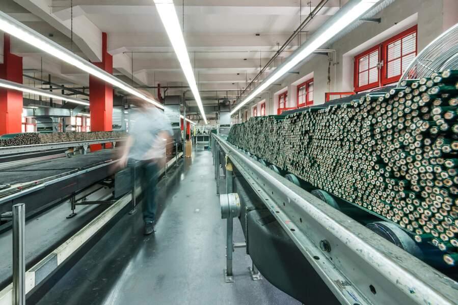Une production automatisée