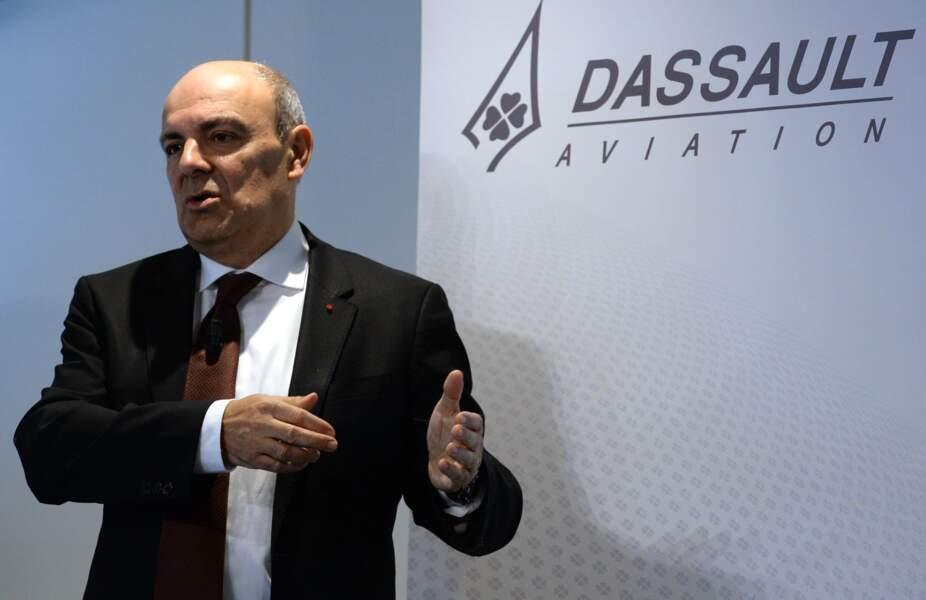 Eric Trappier, P-D.G de Dassault Aviation