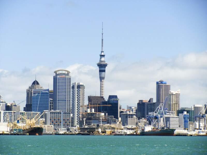 3ème ex-aequo : Auckland