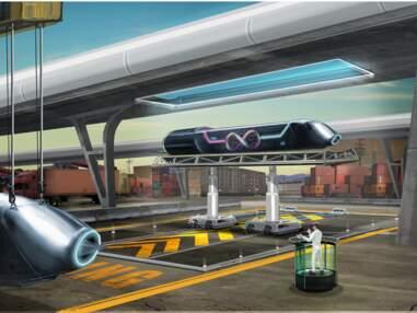 A bord de l'Hyperloop, un moyen de transport révolutionnaire