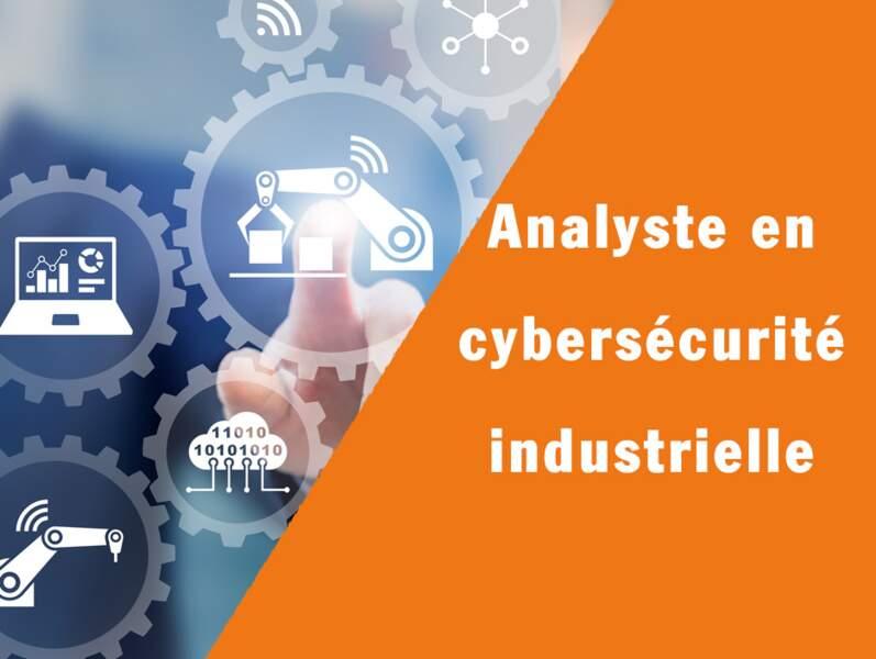 Analyste en cybersécurité industrielle - Il renforce la sécurité de fabrication