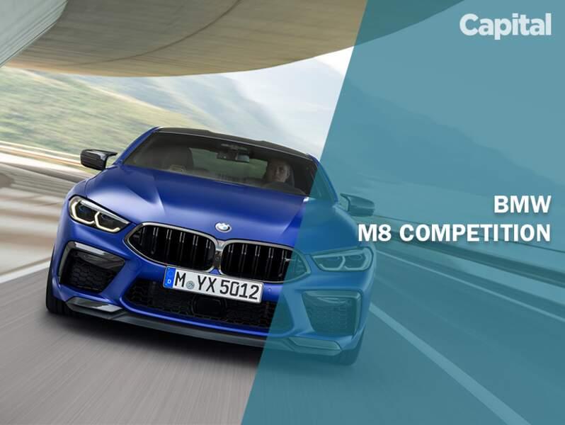 BMW M8 Competition : 625 ch sous le capot !