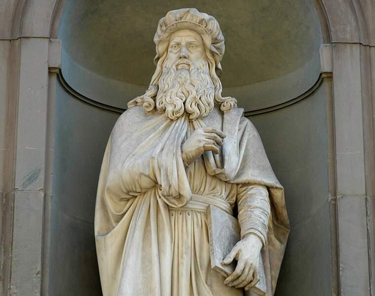 Léonard de Vinci (1452-1519), peintre, sculpteur, inventeur et génial touche-à-tout