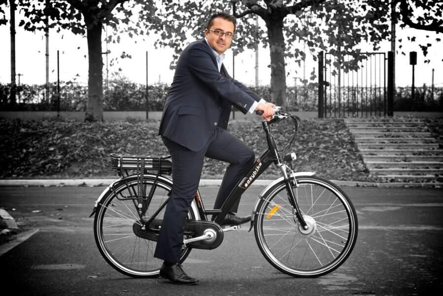 Grégory Trébaol, 34 ans, directeur associé d'Easybike : c'est le roi français de la petite reine électrique